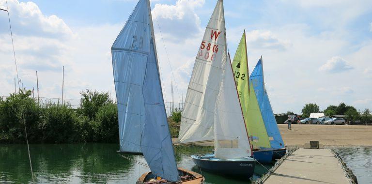 Sailing at Fairlop Waters