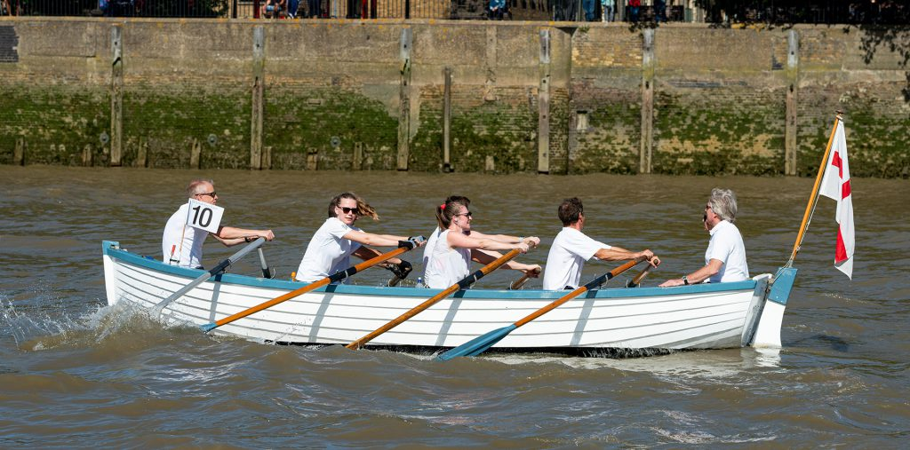 The 2019 Great River Race.