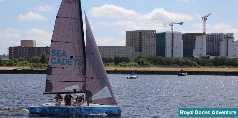 Sailing lessons at the Royal Docks