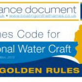 Thames Code for Personal Water Craft