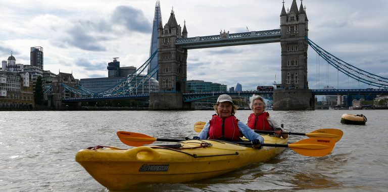 Explore central London by kayak with London Kayak Company