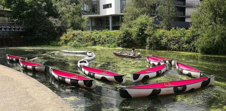 Explore inland waterways with Moo Canoes